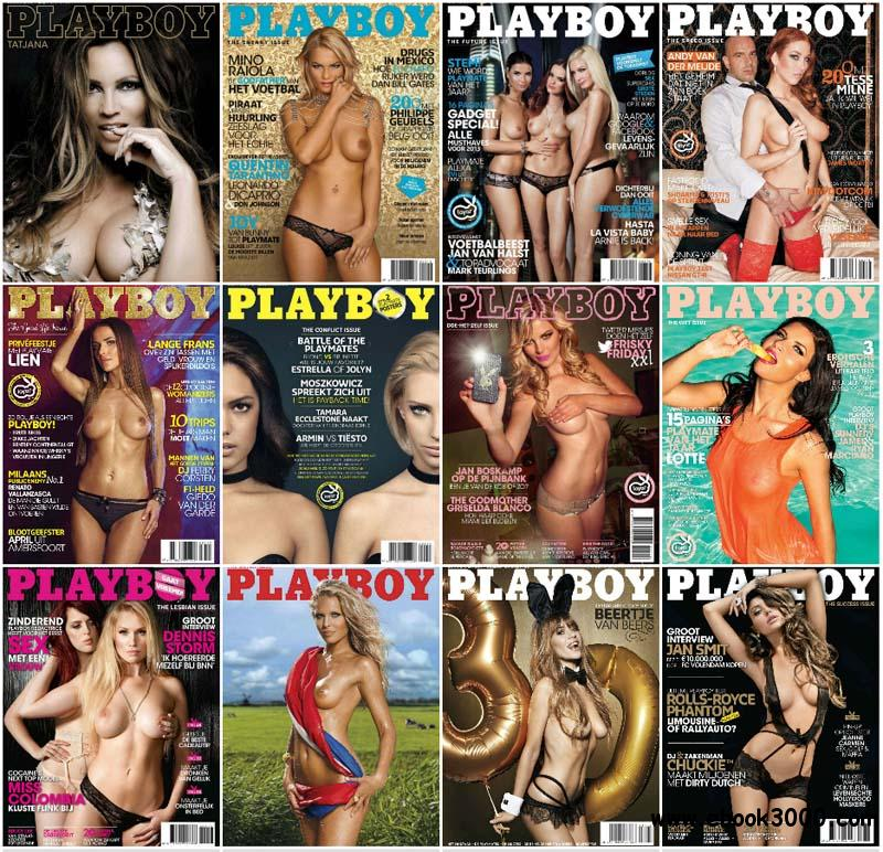 Playboy Netherlands - Full Year 2013 Issues Collection free download