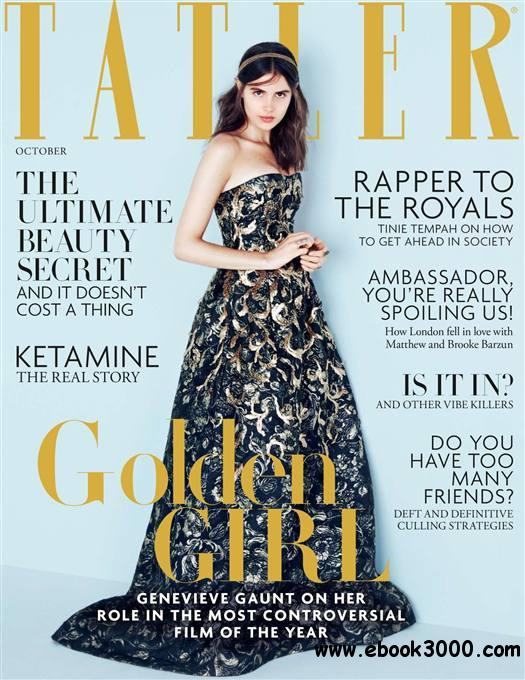 Tatler UK - October 2014 free download