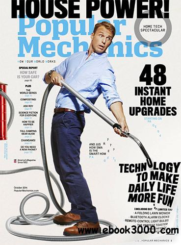 Popular Mechanics USA - October 2014 free download