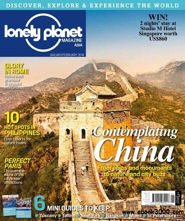 Lonely Planet Asia - Jan-Feb 2014 free download