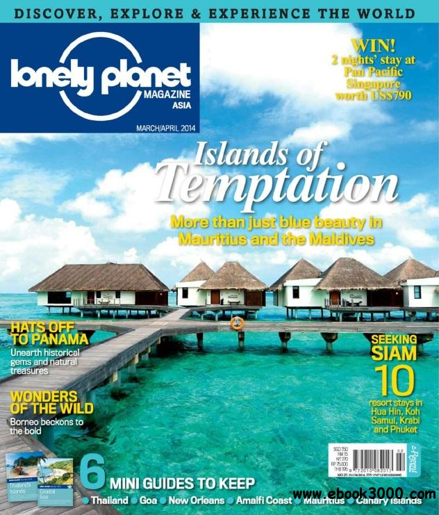 Lonely Planet Asia - Mar-Apr 2014 free download