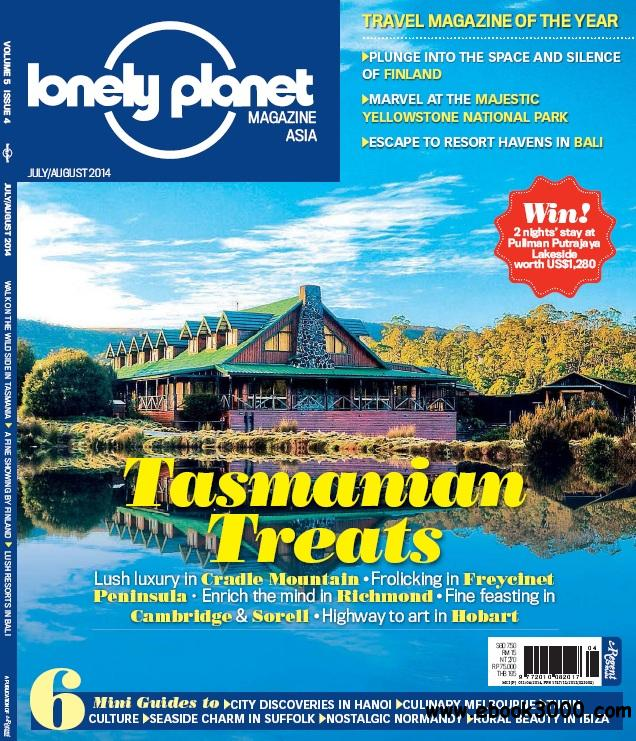 Lonely Planet Asia - Jul - Aug 2014 free download