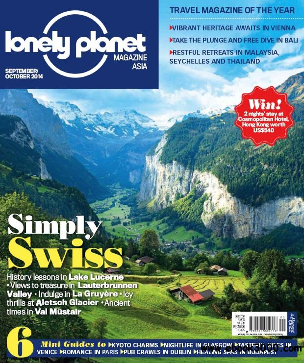 Lonely Planet Asia - Sep-Oct 2014 free download