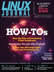 Linux Journal - September 2014 free download