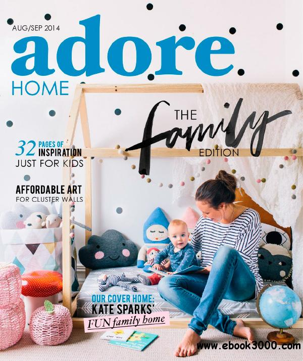 Adore Home - August/September 2014 free download