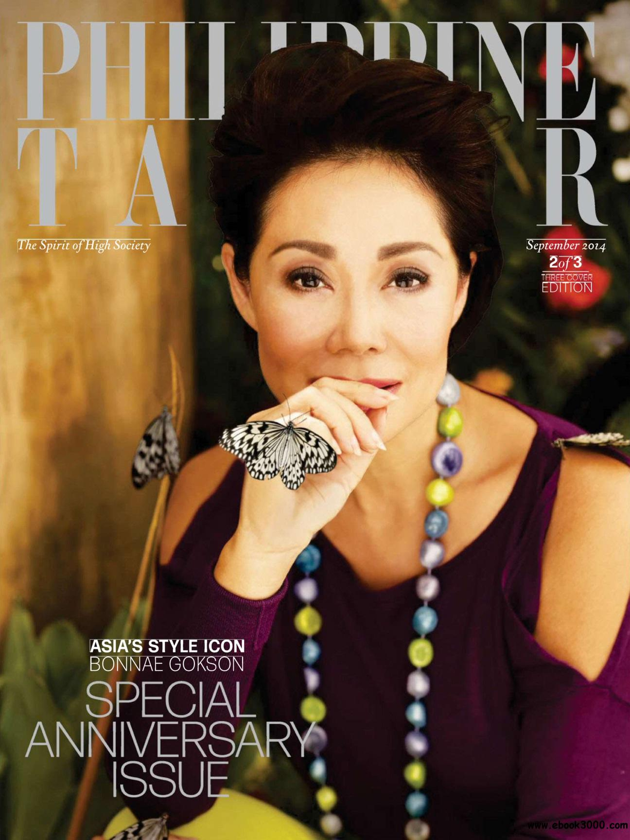 Philippine Tatler - September 2014 free download