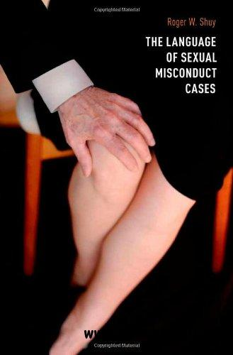 The Language of Sexual Misconduct Cases free download