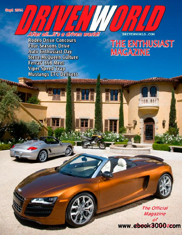 Driven World - September 2014 free download