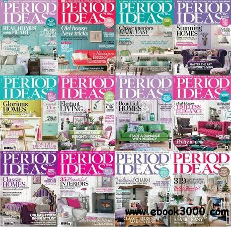 Period Ideas Magazine 2013 Full Collection free download