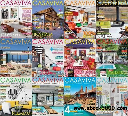 Casaviva Decoracion Magazine 2012-2013 Full Collection free download