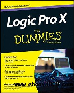 Logic Pro X For Dummies free download