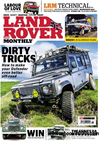 Land Rover Monthly - November 2014 free download