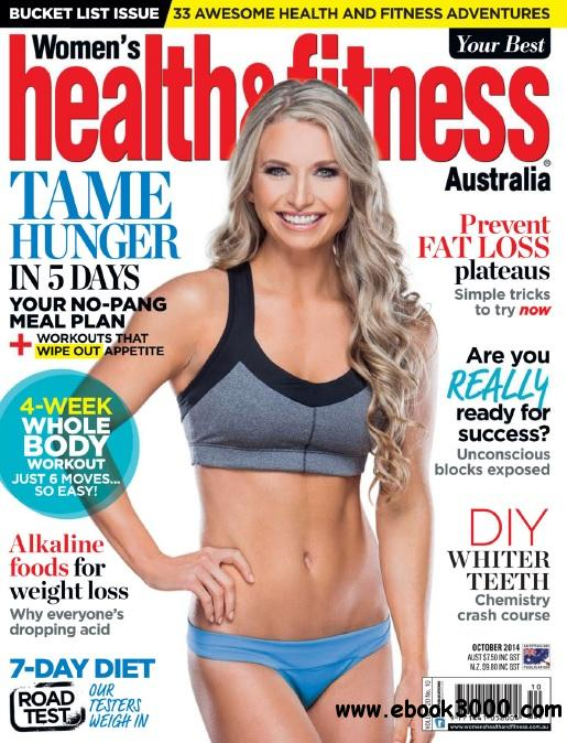 Women's Health and Fitness Australia - October 2014 free download