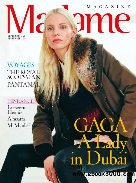 Madame Magazine - September 2014 free download