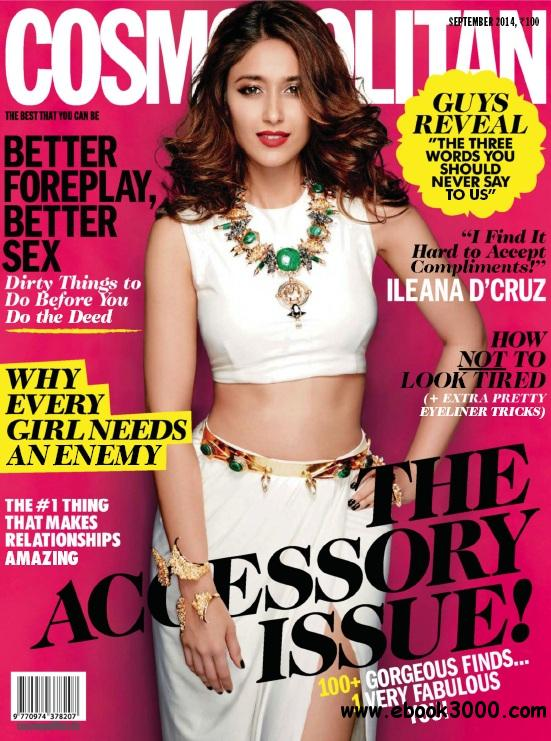 Cosmopolitan India - September 2014 free download