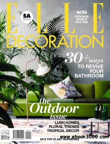 Elle Decoration South Africa - October-November 2014 free download