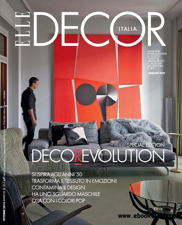 Elle Decor Italia - Ottobre 2014 free download