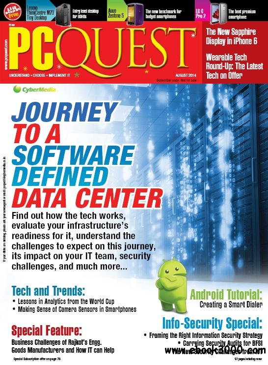 PCQuest - August 2014 free download