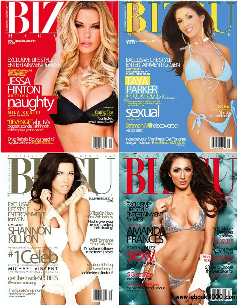 Bizsu Magazine - Full Year 2014 Issues Collection free download