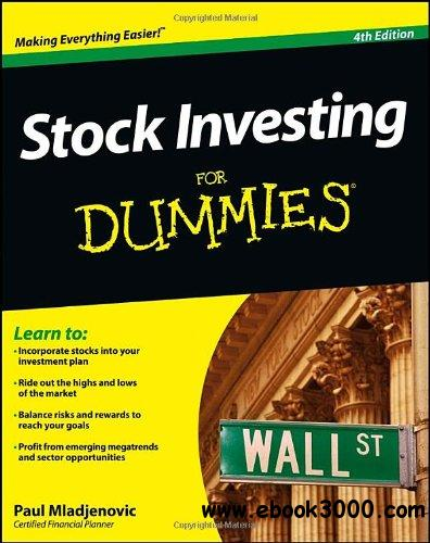 Stock Investing For Dummies, 4 edition free download