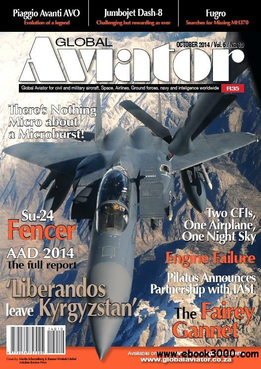 Global Aviator South Africa - October 2014 download dree