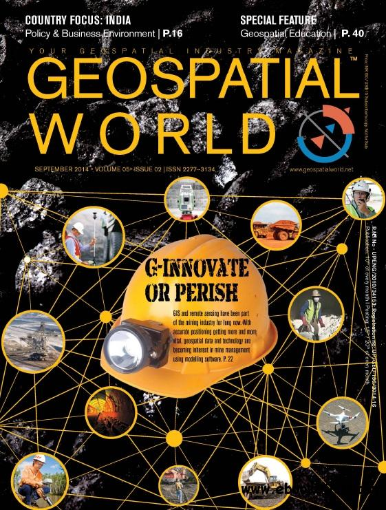 Geospatial World - September 2014 free download