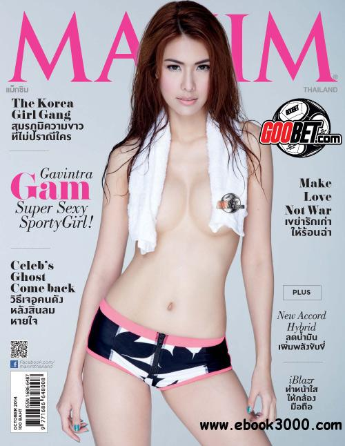 Maxim Thailand - October 2014 free download