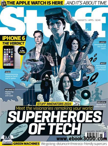 Stuff UK - November 2014 free download