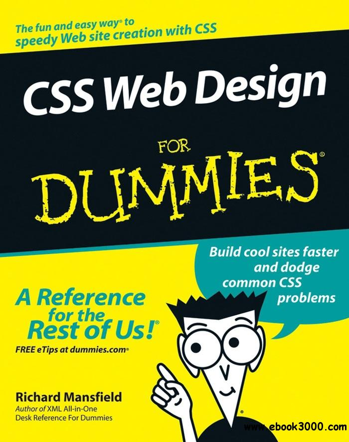 CSS Web Design For Dummies free download