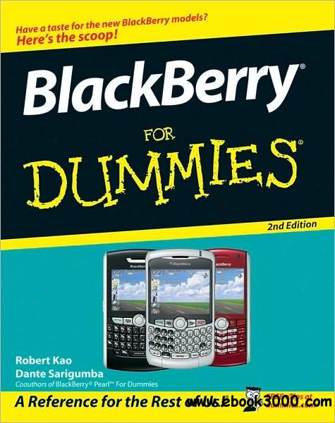 BlackBerry For Dummies 2nd Edition download dree