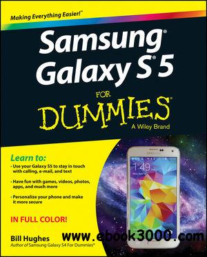 Samsung Galaxy S5 For Dummies free download