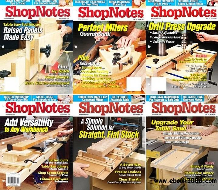 ShopNotes 2014 Full Collection (#133-138) free download