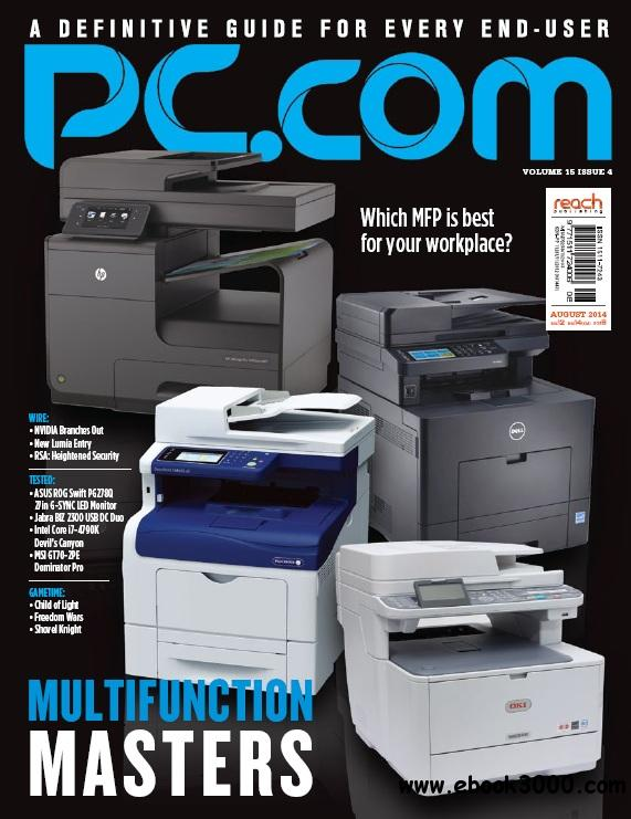 PC.com - August 2014 free download