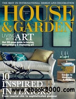 House and Garden USA - November 2014 free download