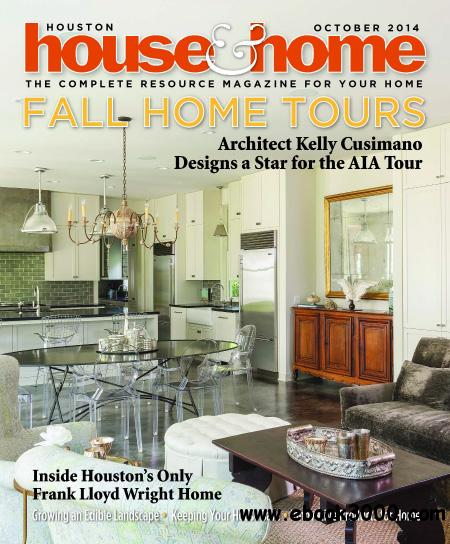 Houston House & Home - October 2014 free download