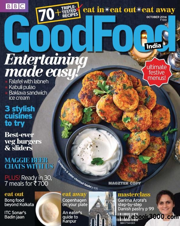 BBC GoodFood India - October 2014 free download