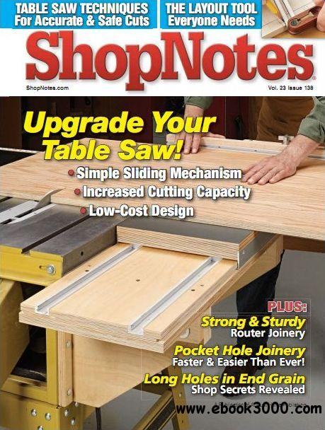 ShopNotes Issue #139 (November-December 2014) free download