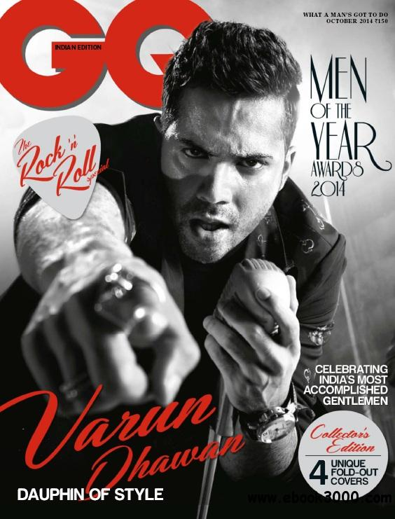 GQ India - October 2014 free download