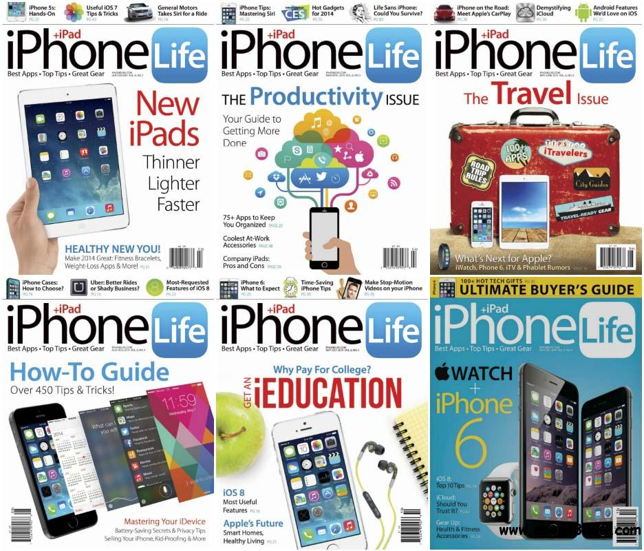 iPhone Life - Full Year 2014 Issues Collection free download