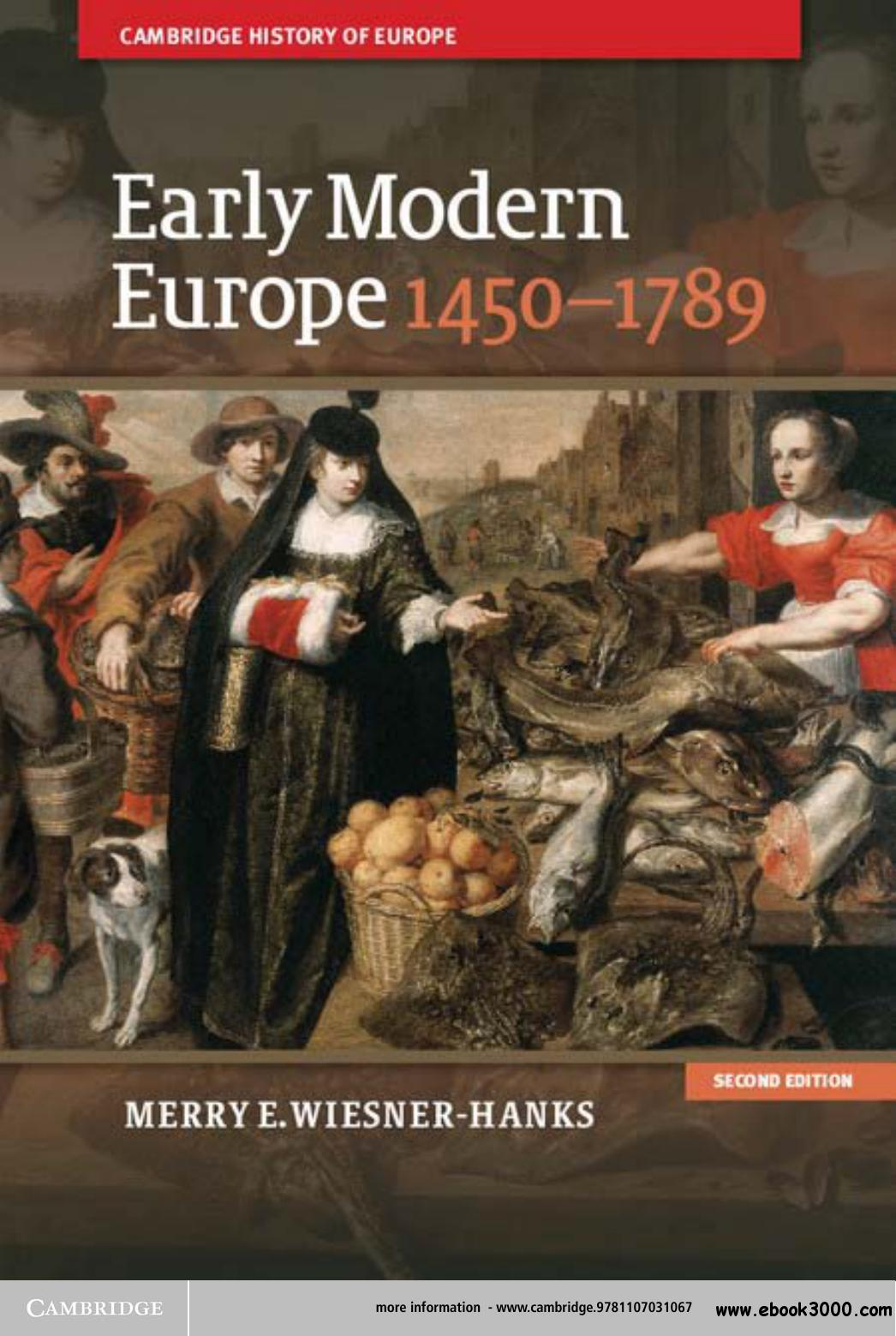 Early Modern Europe, 1450-1789 free download