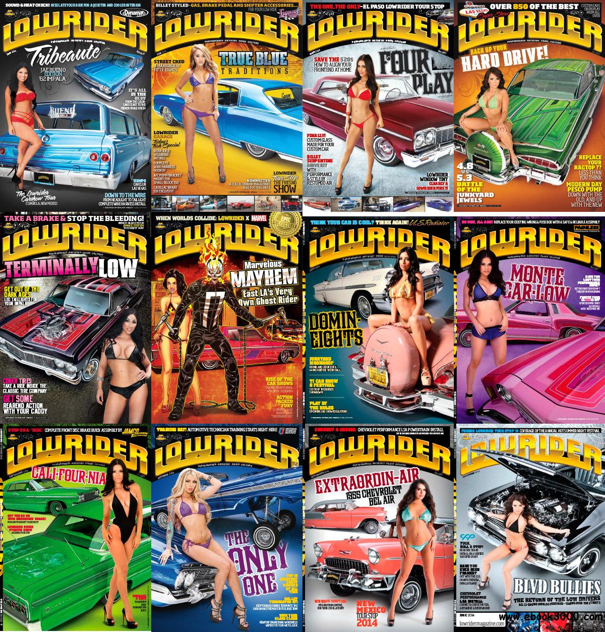 Lowrider USA 2014 Full Year Collection free download