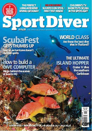 Sport Diver UK Magazine November 2014 free download