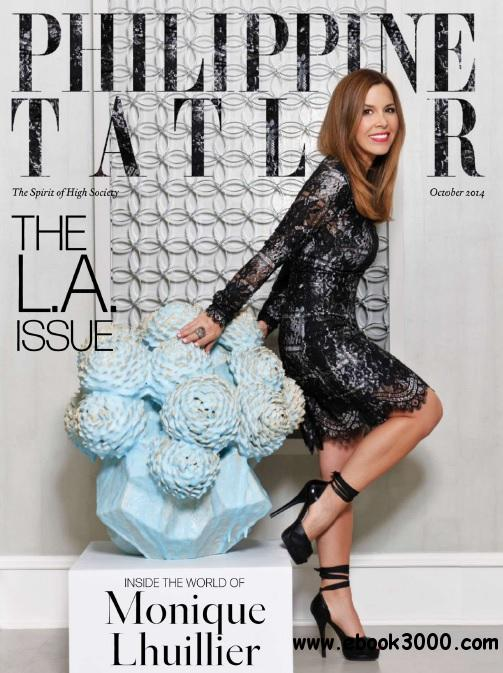 Philippine Tatler - October 2014 free download