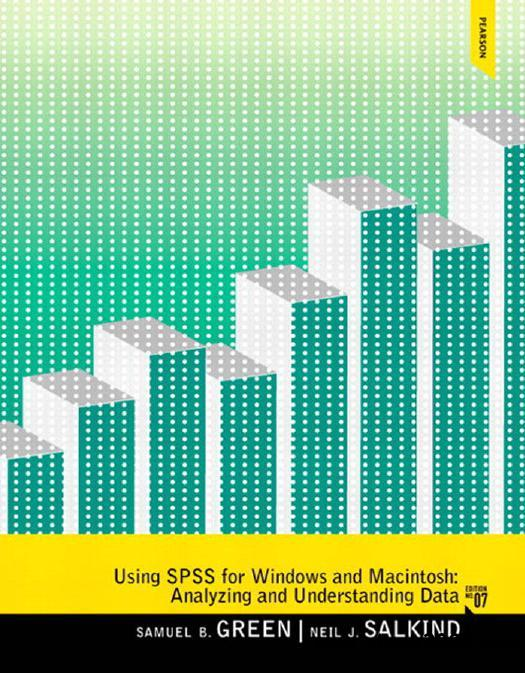Using SPSS for Windows and Macintosh, 7th Edition free download