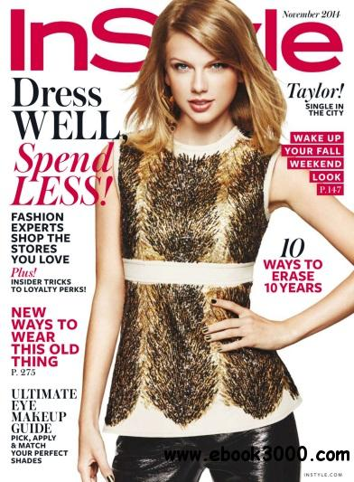 InStyle USA - November 2014 free download