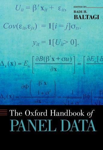 The Oxford Handbook of Panel Data free download