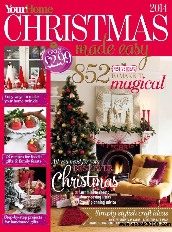 Your Home Christmas Made Easy 2014 Free Ebooks Download