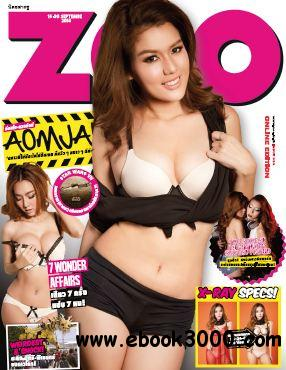 Zoo Weekly Thailand - 15 September 2014 free download