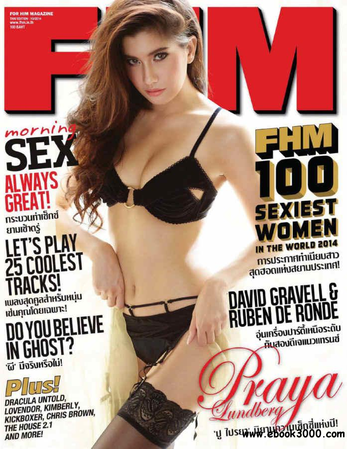 FHM Thailand 201- October 2014 free download