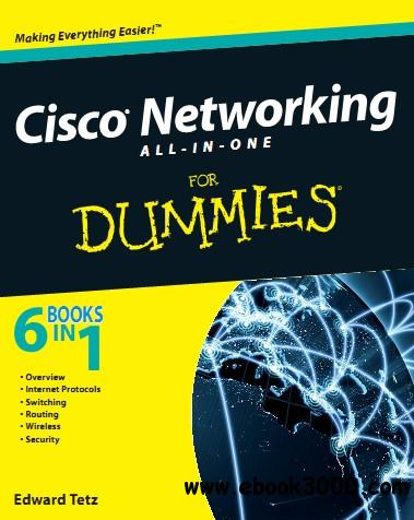 Cisco Networking All-in-One For Dummies free download